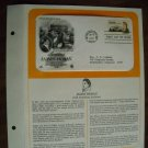Honoring James Hoban Architect 1981 Postal Commemorative Society First Day Cover Sheet