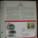 Save Our Wildlife Habitats Wetlands and Grasslands 1981 Commemorative First Day Cover Sheet