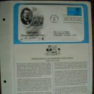 Professional Management Education Centennial 1981 Postal Commemorative First Day Cover Sheet