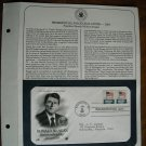 Ronald Reagan Inauguration Day January 20 1981 Postal Commemorative First Day Cover Sheet