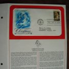 Christmas Season's Greetings Madonna and Child 1982 Postal Commemorative First Day Cover Sheet