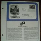 Montana Statehood Centennial 1889 - 1989 Postal Commemorative Society First Day Cover Sheet
