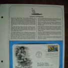 25th Anniversary Hawaii Statehood 1959 - 1984 Postal Commemorative Society First Day Cover Sheet