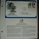 Winter Olympic Games Ice Hockey Cross Country Skiing 1984 Commemorative Society First Day Cover