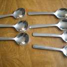 Stainless Steel Taiwan R.O.C. Dessert Spoons - 7 pc (wtnk40)