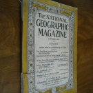 National Geographic January 1933 Vol LXIII No. One Cape Horn