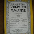 National Geographic February 1933 Vol. LXIII No. Two - Washington The Evergreen State