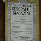National Geographic January 1928 Vol. LIII No. One- Linbergh President Coolidge