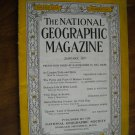 National Geographic January 1937 Vol. LXXI No. One - London