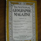 National Geographic February 1938 Vol. LXXIII No. Two- Portugal / Incas Andes