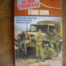 Stand Down (Echo Company) # 4 by Zack Emerson Scholastic (1992) (BB10)