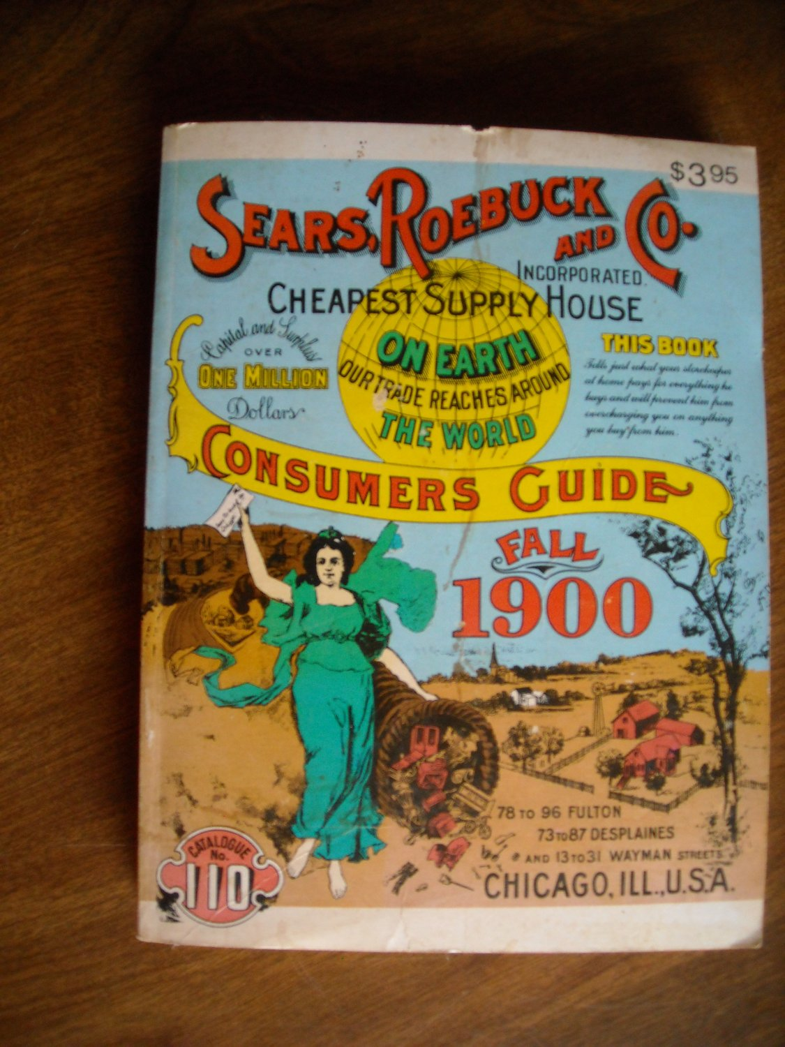Sears, Roebuck and Co. Consumers Guide: Fall 1900 (Miniature Reproduction) (1970) (BB9)