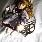 Collectors Choice Porcelain Bisque Doll Musical & Movement