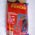 The Weather Station Adult Blue Poncho NIP (GB1)