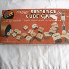 Scrabble Sentence Cube Game 1983 Selchow & Righter - Complete (GB2)