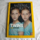 National Geographic Vol. 221, No. 1 January 2012 Twins Alike But Not Alike