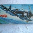 Hasegawa Vought F4U-1D Corsair 1:72 NIP Model Kit U. N. Marines Fighter (1988) (mw)