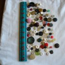 Lot of 100 Assorted Buttons Assorted Sizes and Styles Great for Crafts (WTNM20)