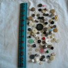 Lot of 100 Assorted Buttons Assorted Sizes and Styles Great for Crafts (WTNM26)