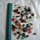 Lot of 100 Assorted Buttons Assorted Sizes and Styles Great for Crafts (WTNM31)