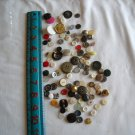 Lot of 100 Assorted Buttons Assorted Sizes and Styles Great for Crafts (WTNM34)