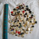 Lot of 240 Assorted Buttons Assorted Sizes and Styles Great for Crafts (WTNM40)
