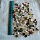 Lot of 200 Assorted Buttons Assorted Sizes and Styles Great for Crafts (WTNM41)