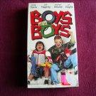 Boys Will Be Boys starring Randy Travis, Julie Hagerty, Jon Voight (VHS, 1998)