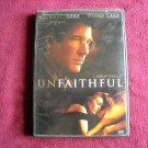 Unfaithful (DVD) Special Edition Rated R Richard Gere / Diane Lane (2002)