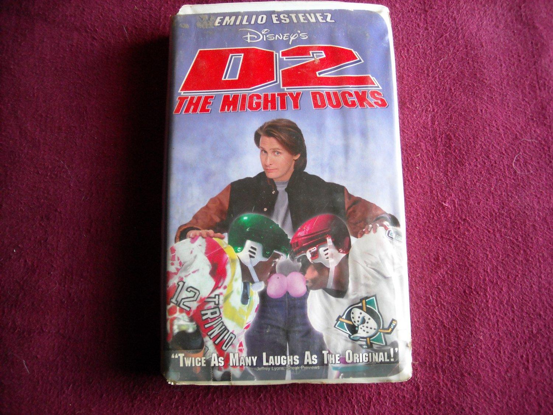 D2: The Mighty Ducks (VHS, 1994) Emilio Estevez / Kathryn Erbe / Michael Tucker PG
