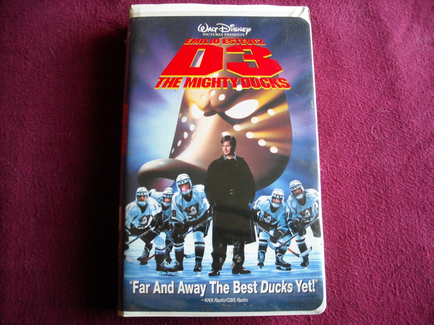 The Mighty Ducks D3 (VHS) Emilio Estevez / Jeffrey Nording / David Selby  (1996) PG