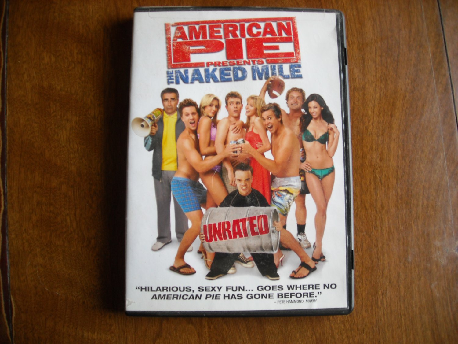 American Pie Presents: The Naked Mile (DVD, 2009, Unrated) - John White / Jessy Schram