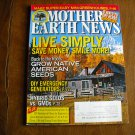 Mother Earth News Live Simply Save Money Smile More February / March  2013 Issue 25