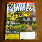 Mother Earth News 9 Strategies for Self Reliant Living October / November 2013 Issue 260