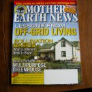 Mother Earth News Lessons from Off Grid Living October / November 2014 Issue 266