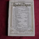 Reader's Digest Magazine May 1937