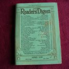 Reader's Digest Magazine April 1938