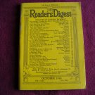 Reader's Digest Magazine October 1938