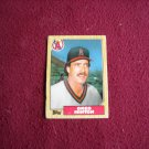 Greg Minton Card No. 79T Pitcher California Angels - 1987 Topps Baseball Card