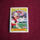 Jan Stenerud Hall of Famer 1991 Card No. 670 - Score 1991 Football Card