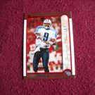 Steve McNair Tennessee Titans DB Card No. 62 (FB62) Bowman Topps 1999 Football Cards