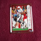 Ben Coates New England Patriots TE Card No. 63 - Bowman Topps 1999 Football Card