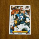 Jim Kelly Bills QB Card No. 170 - Topps 1993 Football Card