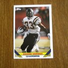 Ronnie Harmon Chargers RB Card No. 419 - Topps 1993 Football Card