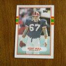 Kent Hull Buffalo Bulls C Card No. 48 - Topps 1989 Football Card