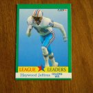 Haywood Jeffires Oilers WR League Leader Card No. 412 - 1991 Fleer Football Card