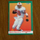 Harry Hamilton Buccaneers DB Card No. 376 - 1991 Fleer Football Card