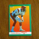Lewis Billups Bengals DB Card No. 15 - 1991 Fleer Football Card