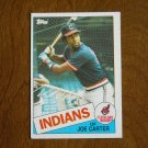 Joe Carter of Cleveland Indians Card No. 694 - 1985 Topps Baseball Card