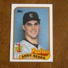 Andy Benes #1 Draft Pick Padres Card No. 437 - 1989 Topps Baseball Card